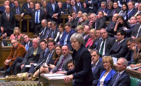 may parlament amanare brexit