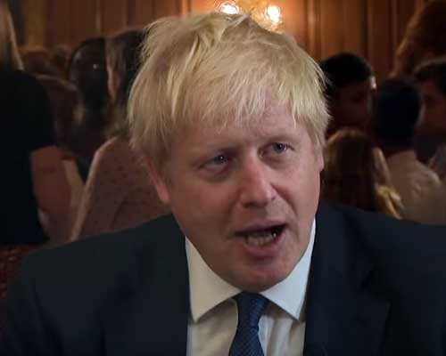 Boris Johnson premier uk