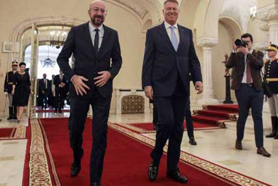 Iohannis si Charles Michel
